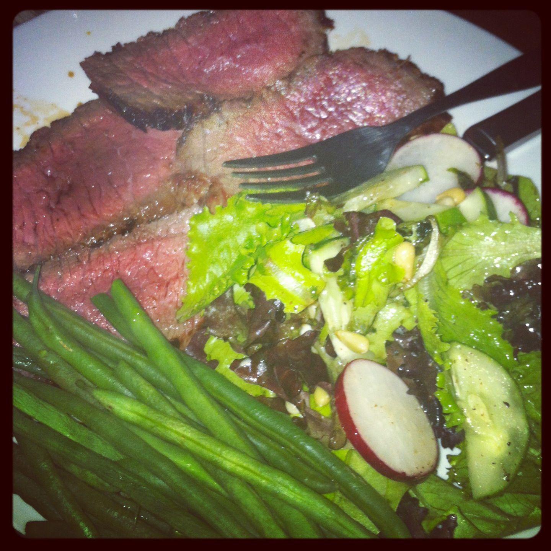 Steak and Salad - My Paleo Plate
