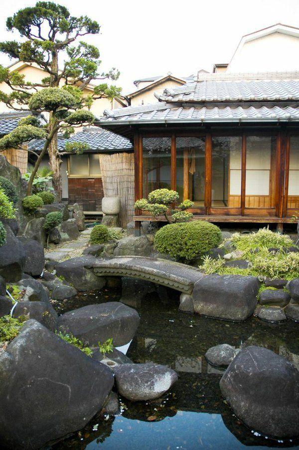 L 39 architecture japonaise en 74 photos magnifiques japan pinterest garten asiatischer - Japanische gartenpflanzen ...
