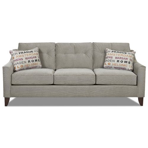 Klaussner Furniture Audrina Sofa Reviews Wayfair Grey Sofa