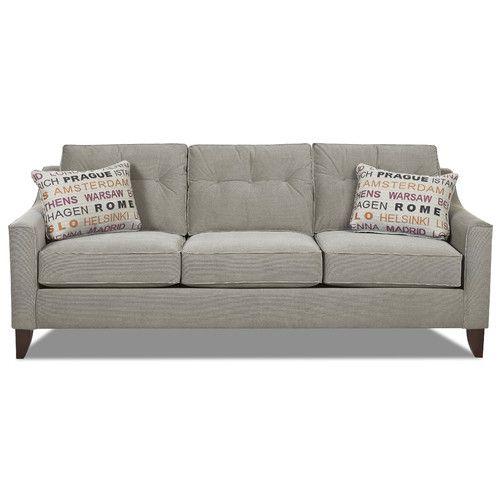 Klaussner Furniture Audrina Sofa Reviews Wayfair Grey