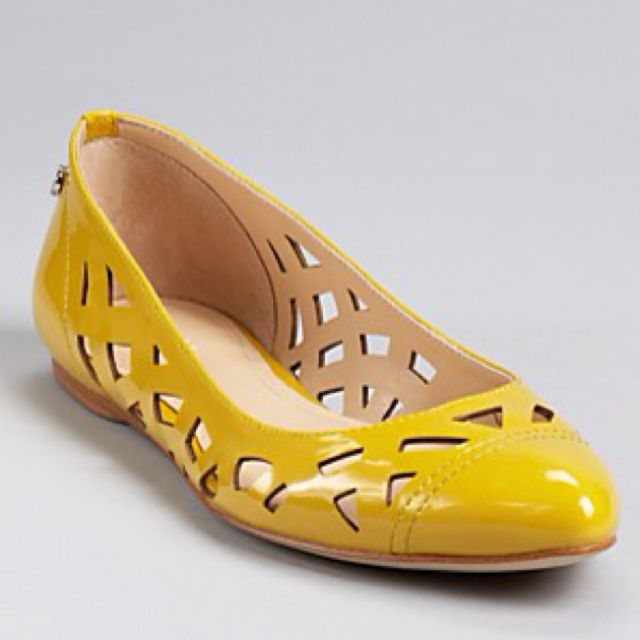 Calvin Klein - for Lisa. Summer shoes of optimism!