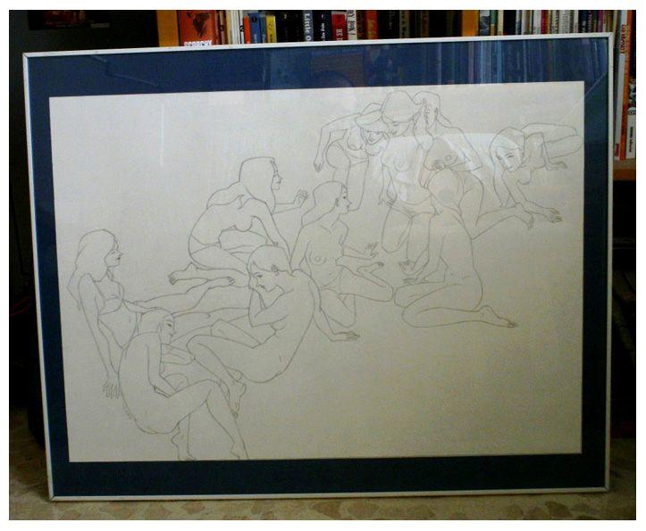 Agreda : Lápiz, color digital y serigrafía. Pencil,...