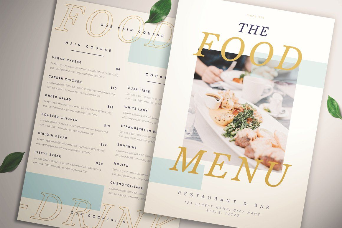Hipstery Food Menu In 2020 With Images Creative Flyers Food