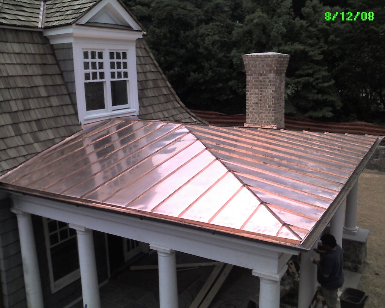 metal roof porch google search porch ideas porch. Black Bedroom Furniture Sets. Home Design Ideas