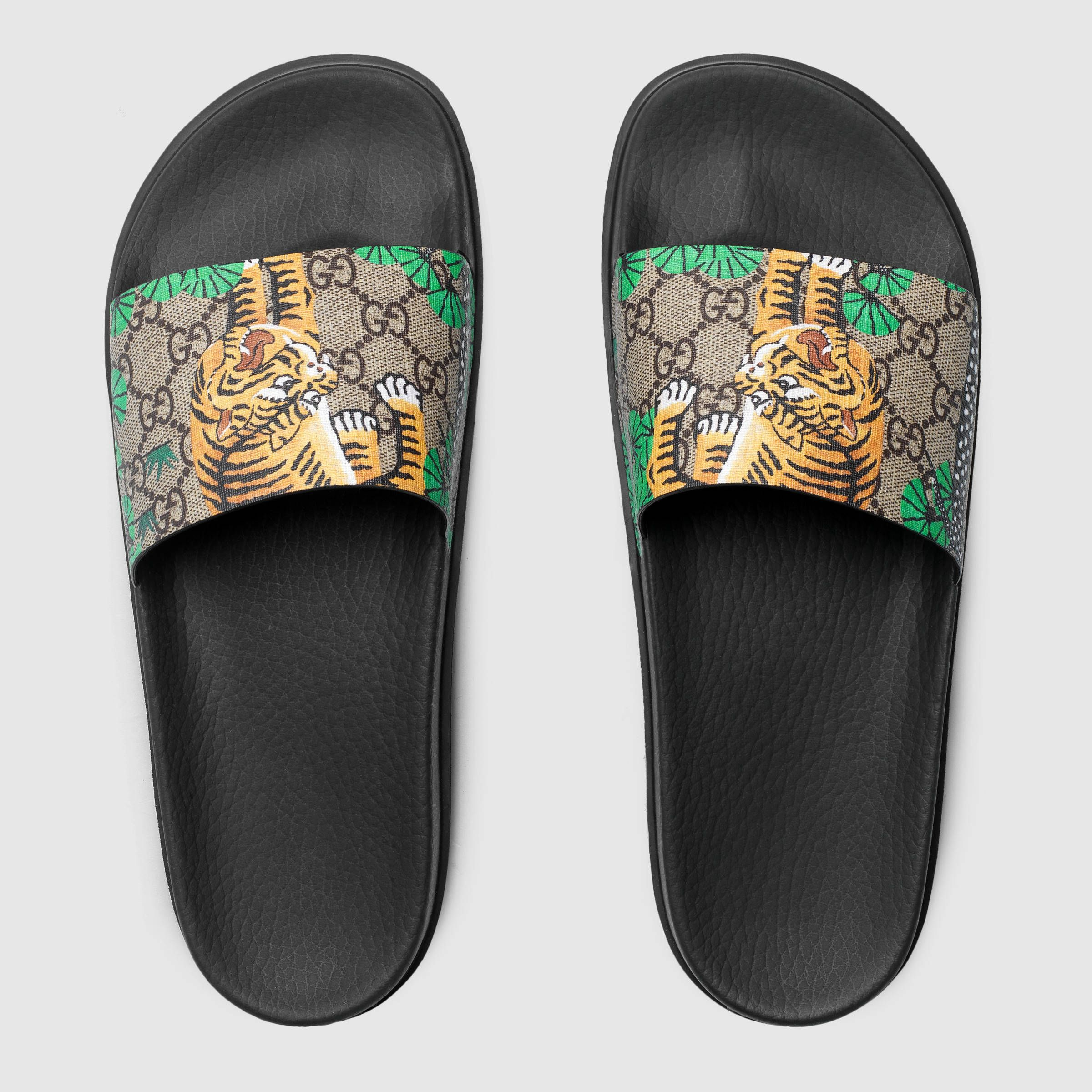 9f1523376 Gucci Gucci Bengal slide sandal Detail 3 | My Style in 2019 | Shoes ...