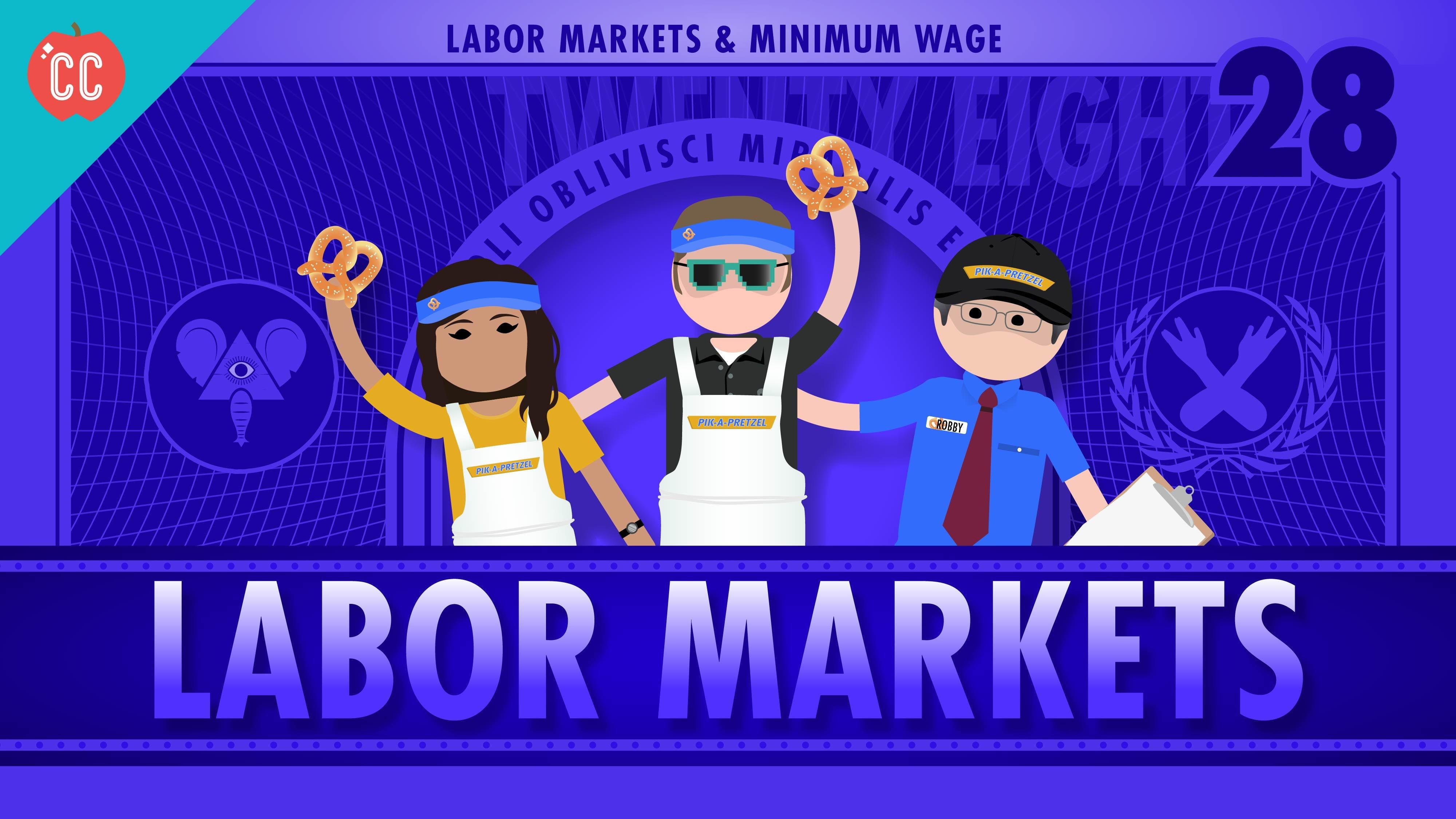 Labor Markets And Minimum Wage Crash Course Economics 28