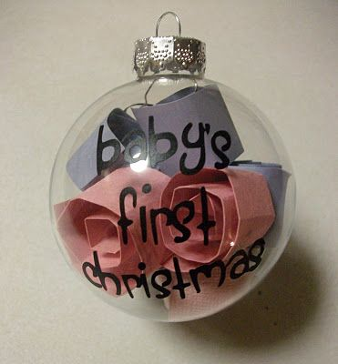 Vinyl: Baby's First Christamas ornament @VinylExpressions