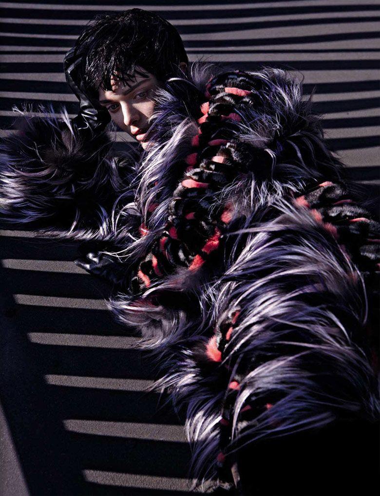 British model Sam Rollinson for Vogue's Italia November 2013 Issue. photo - Solve Sundsbo / repinned on Toby Designs