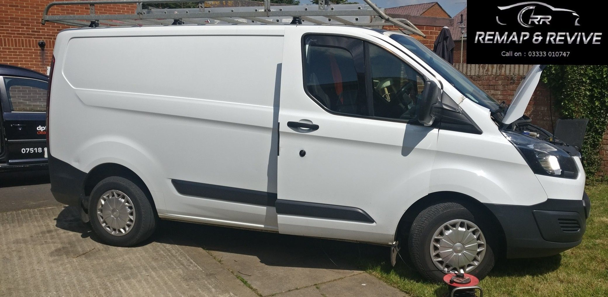 One Of Several Messes Made By Other Garages Remappers We Have Sorted Out This Week This Was Left In A State Of Transit Custom Ford Transit Custom