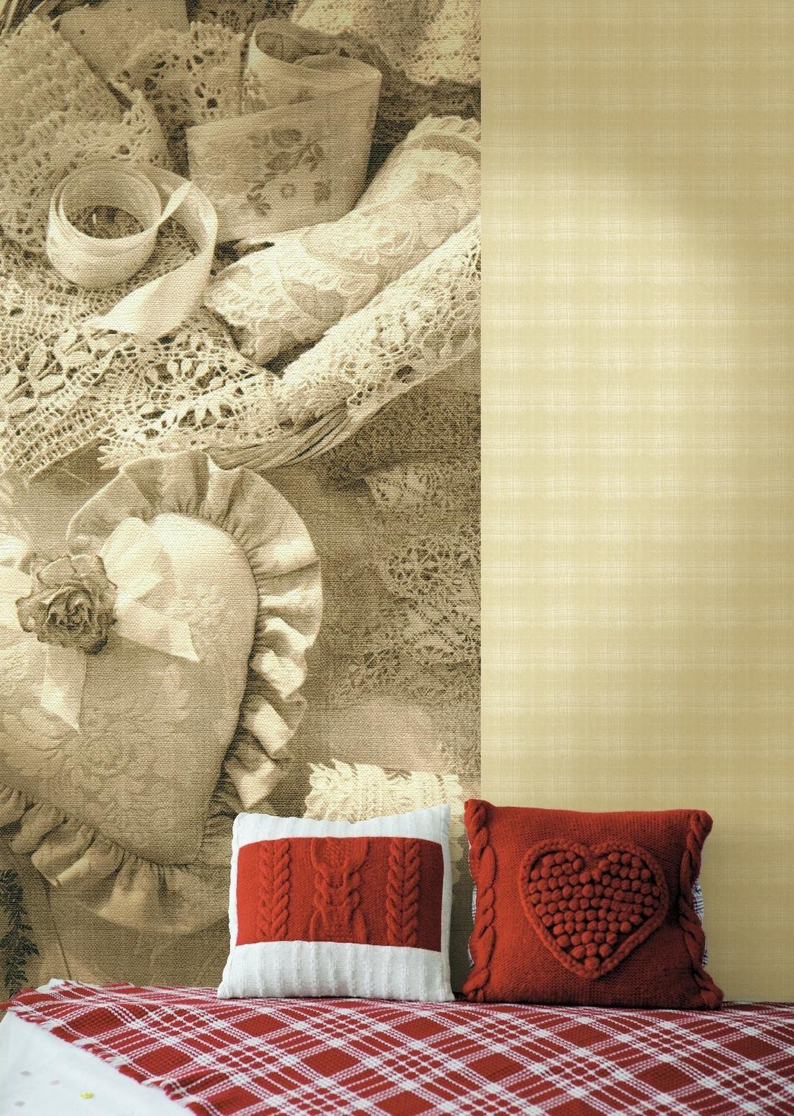Vintage Wallpaper Decoration For Room Interior 5 steps of decorating ...