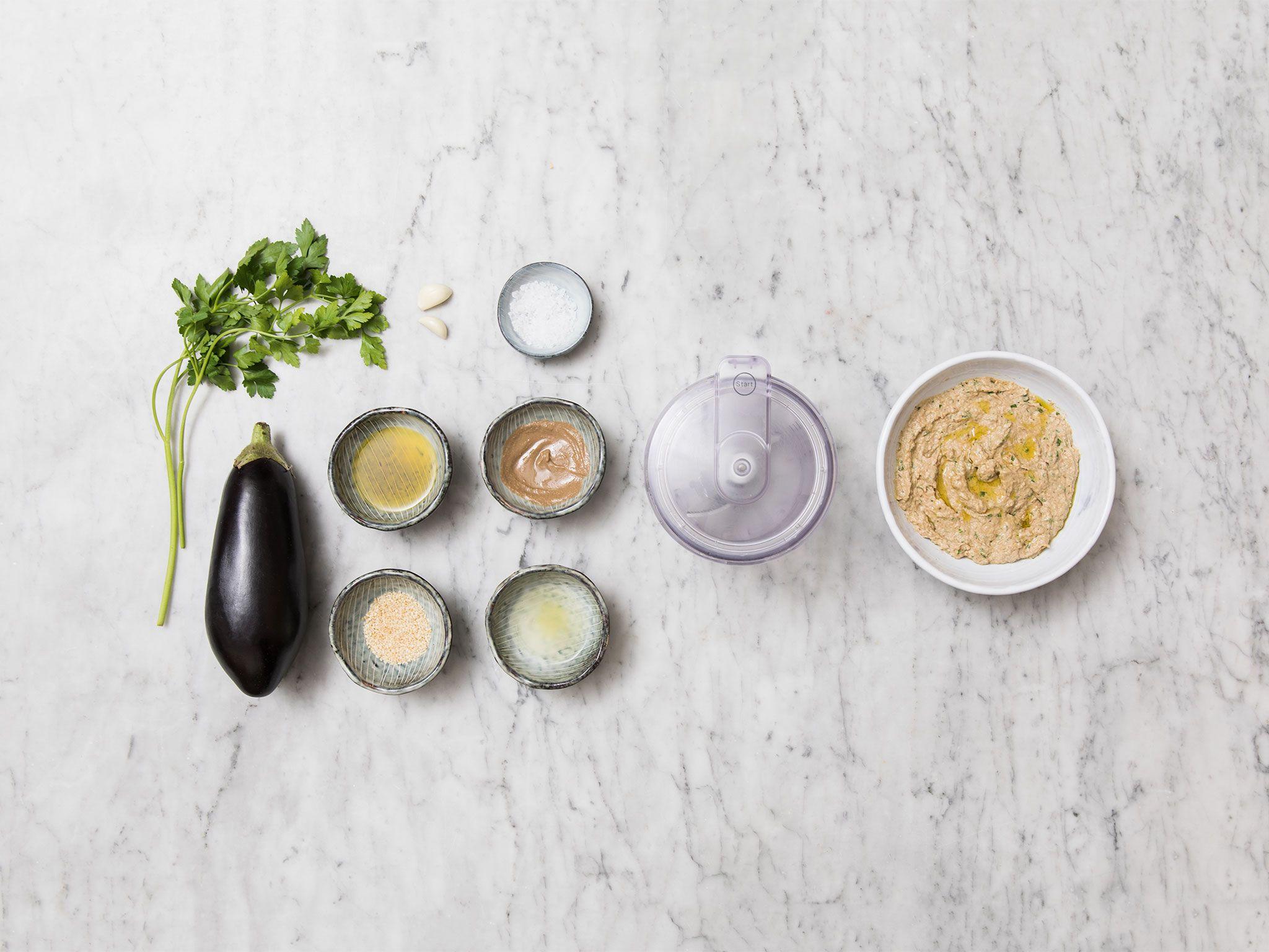 Hausgemachtes Baba Ghanoush | Rezept mit Video | Kitchen Stories