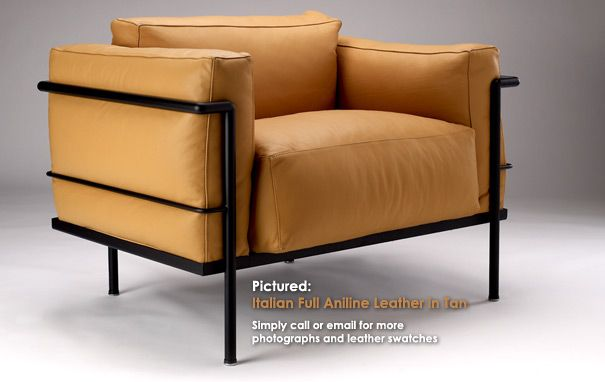 Grand Confort Soft Armchair Lc3 By Le Corbusier Armchair Sofa Design Modern Classic Furniture