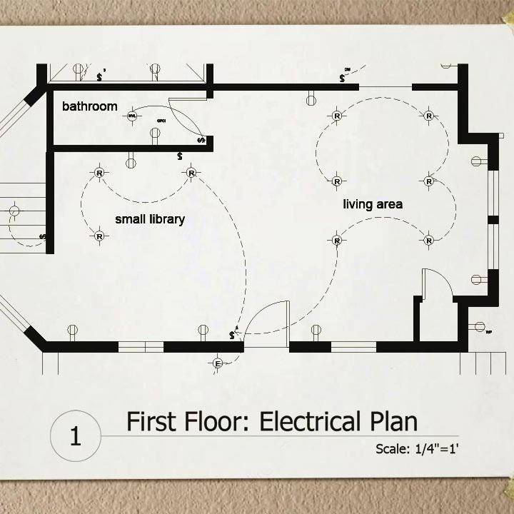 (Download) Drawing Electrical Plans in AutoCAD in 2020 ...