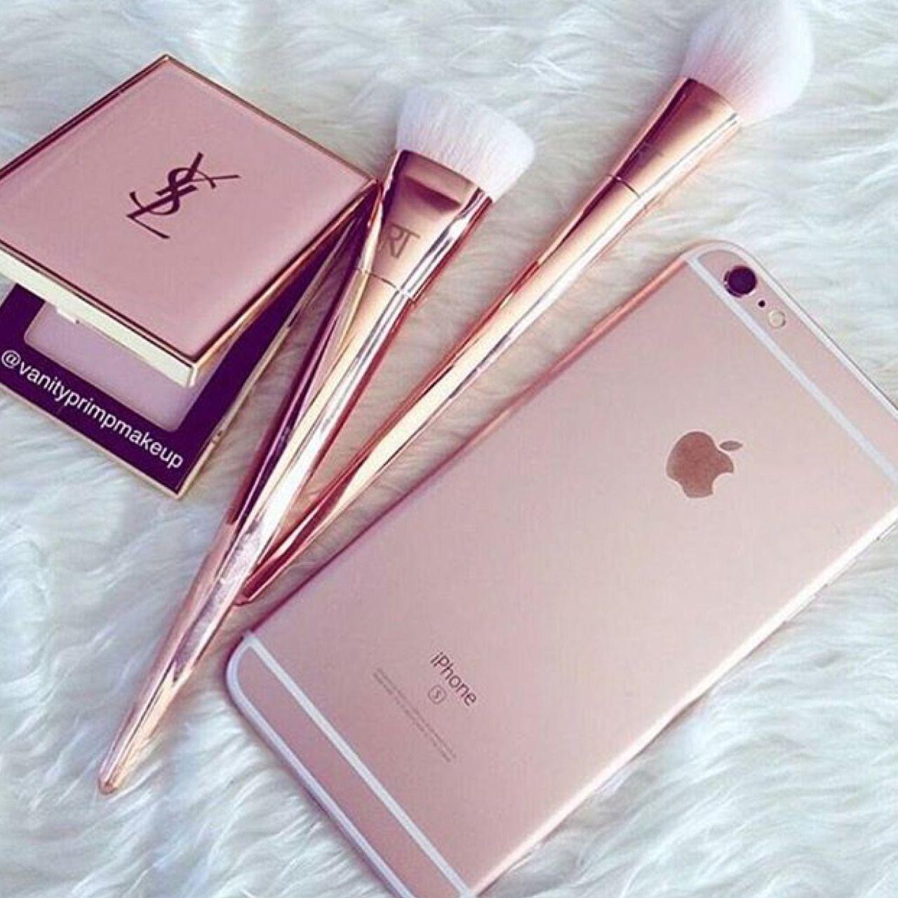Pinterest slaybeautifuls♚ Iphone, Rose gold aesthetic