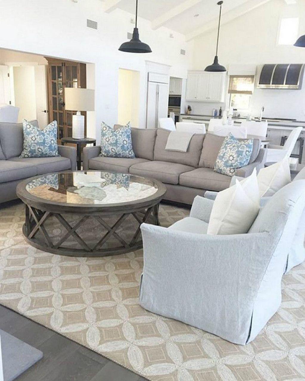 Awesome 99 Cozy And Stylish Coastal Living Room Decor Ideas  Https://homeastern.