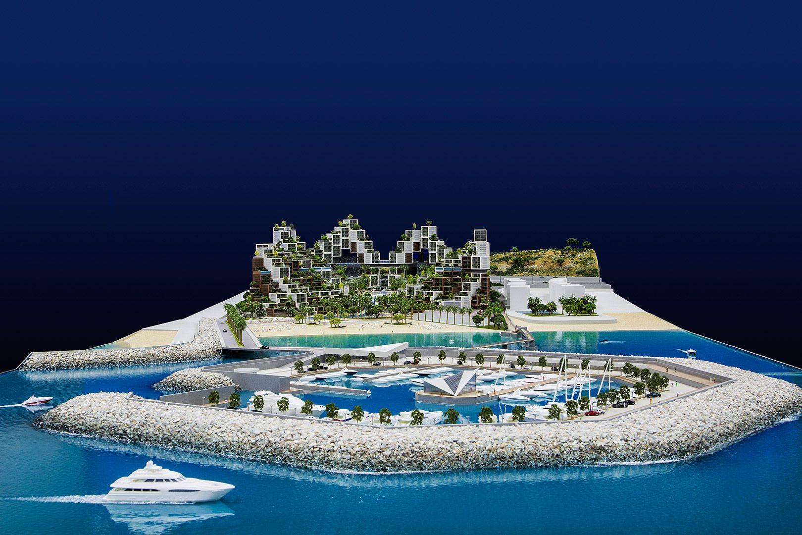 Beach wedding spots  Project  Galateia Client  SAYFCO Location  Lebanon  Scale