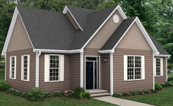 white brick house with brownish trim | White Windows Threaten Brookside's  Charm | At Home in