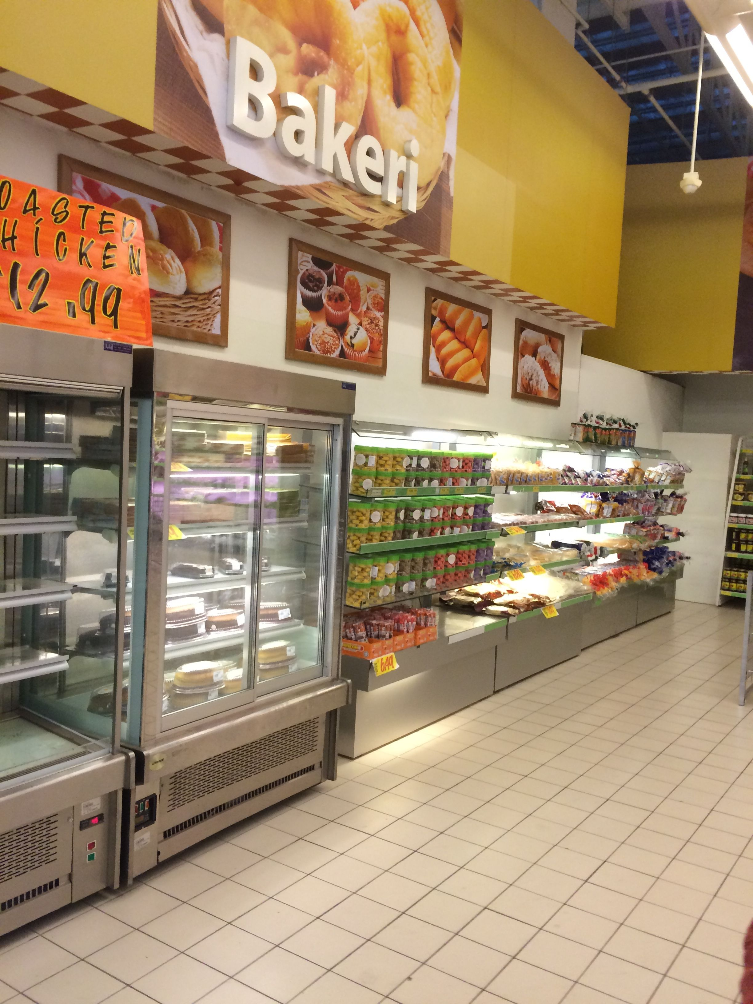 Giant Grocery Store Aisle Categories