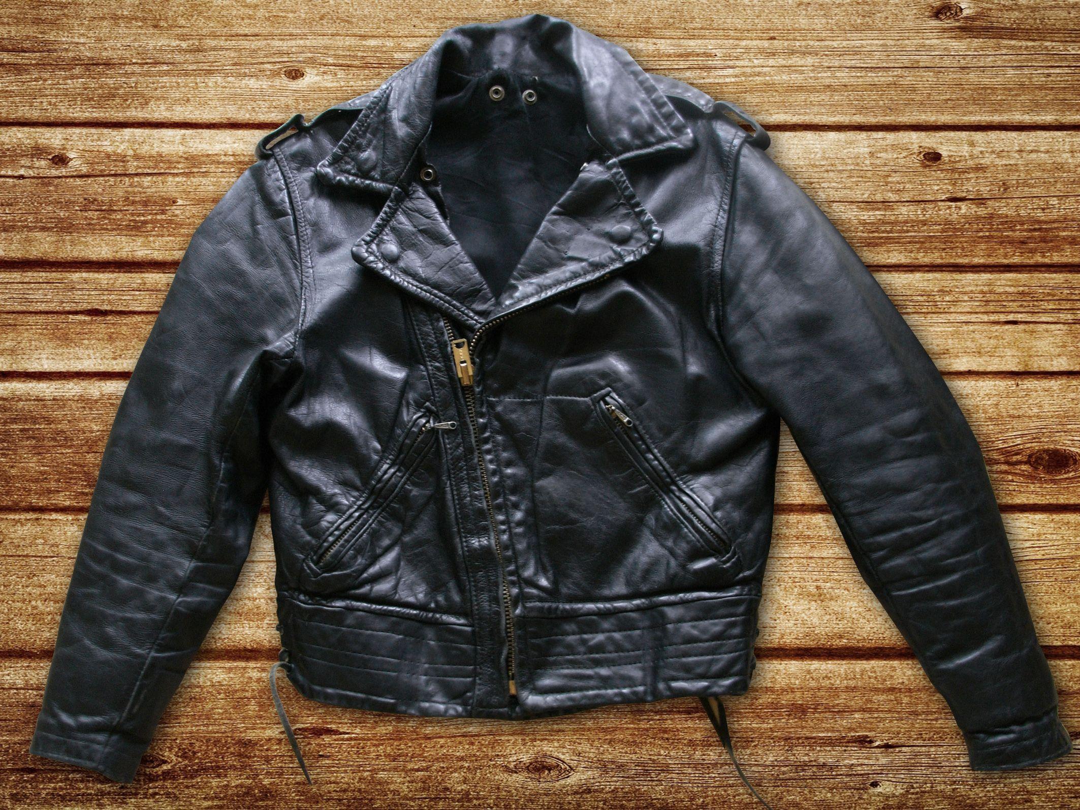 50s 60s Arizona Highway Patrol Motorcycle Jacket Sz 38 Jackets Leather Jacket Leather Jackets For Sale