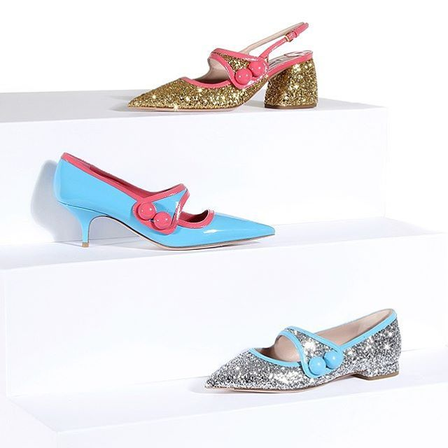 If it's glitzy, girlish and charmingly quirky, it must be @miumiu. #mytheresa #buytheresa