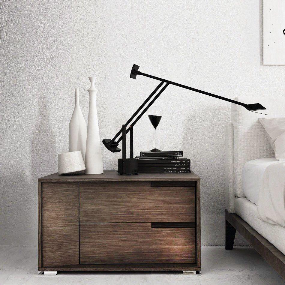 tiziobolum  lamp table lights and interiors - cheerhuzz dormitorio con lámpara de mesa negra irregularhttpsesaliexpress