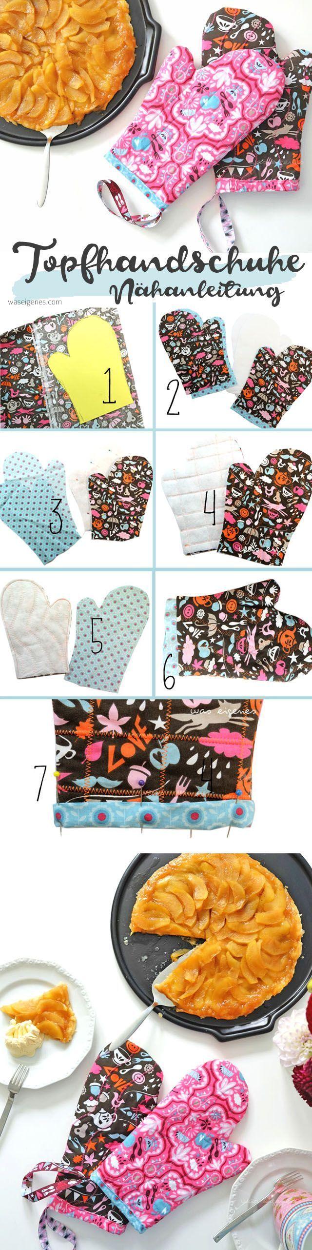 Photo of DIY Nähanleitung: Nähen Sie Topfhandschuhe oder Ofenhandschuhe selbst #DIY #fabric …