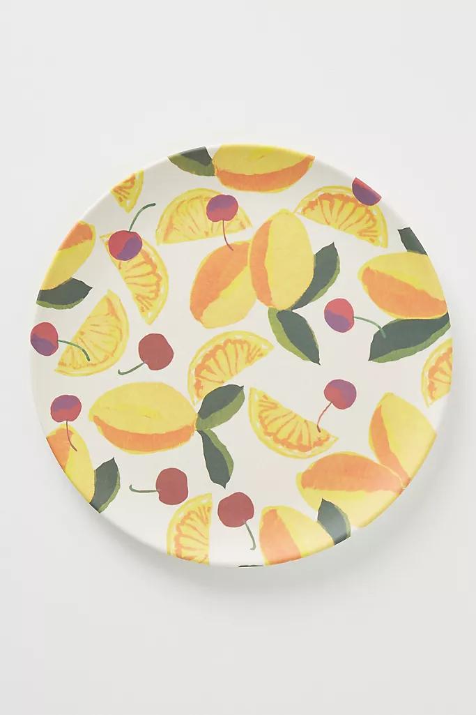 Market Bamboo Melamine Dinner Plate Anthropologie In 2020 Melamine Dinner Plates Dinner Plates Plates