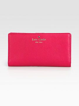 0533542059cab My favourite hot pink Kate Spade  Wallet with gold writing in size medium   bags