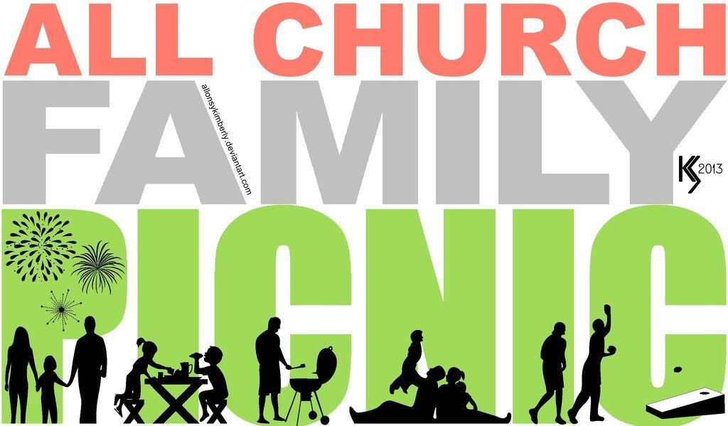 all church family picnic logo by allonsykimberly on