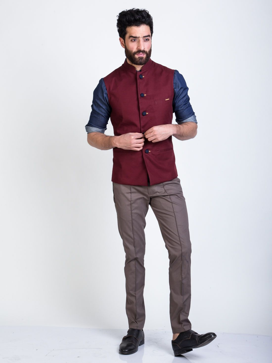 0289b1bfb Buy Mens Nehru Jackets Online in 2019 | prabhy | Nehru jackets ...