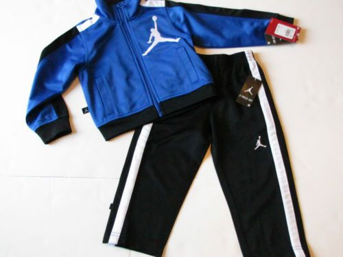 135215186ecd1b NWT Nike Jordan Jump Man Baby Infant Boy 2 Piece Jogging Track Sweat Suit   64. Only  32.99.