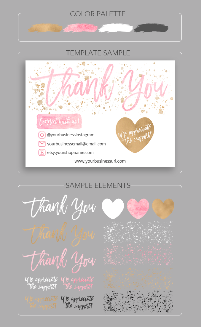 Theultimatethankyoucard Love Lissy Craft Business Cards Thank You Card Design Create Your Own Card