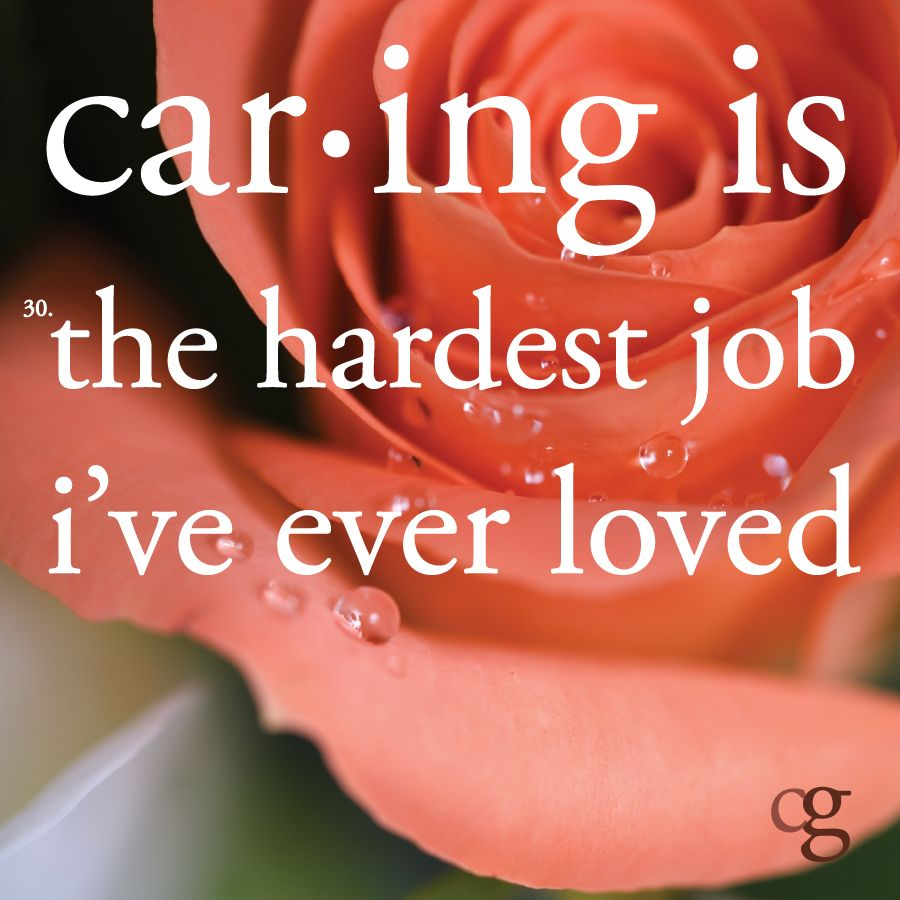 Caregiving, as defined by caregivers (With images