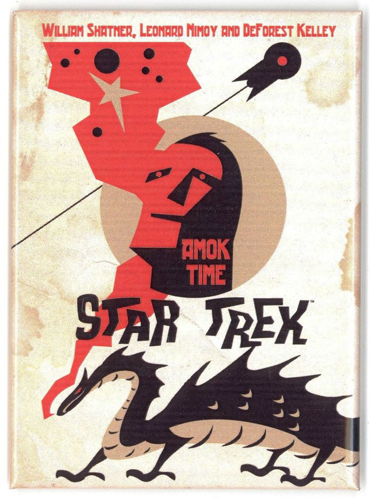 "QMx Star Trek The Original Series Poster Set 19 Set of 4 Prints Each 18/"" x 24/"""