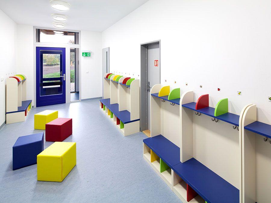 Cloakrooms, locker rooms, dressing rooms | Kindergarden furniture ...