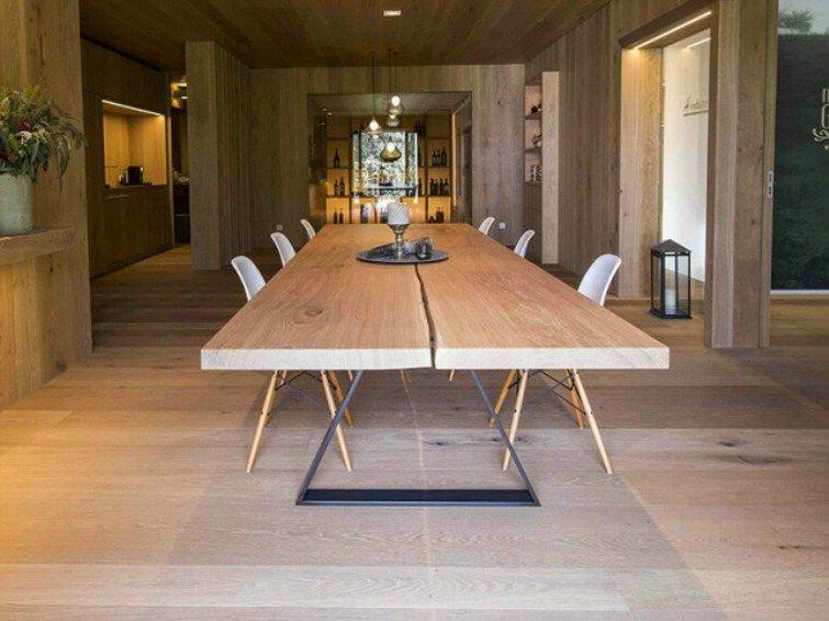 Tisch aus massivem Holz 0013 - holz elf Tische Pinterest - esstische aus massivholz ideen