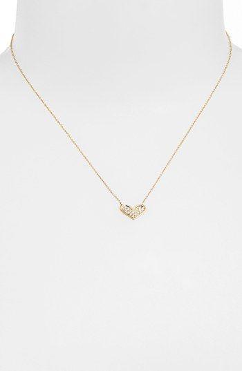 Dana Rebecca Designs Jacquie C Diamond Heart Pendant