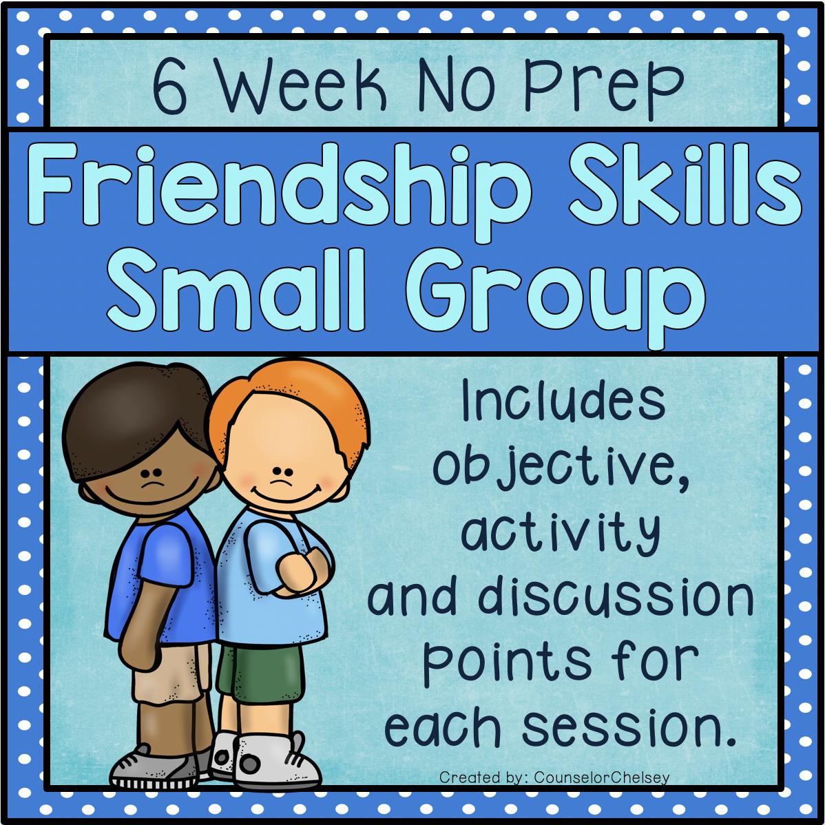 Friendship Skills Small Group