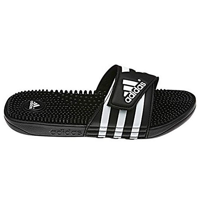 8576511b26d44f adidas Men s adissage II Slides - (Black