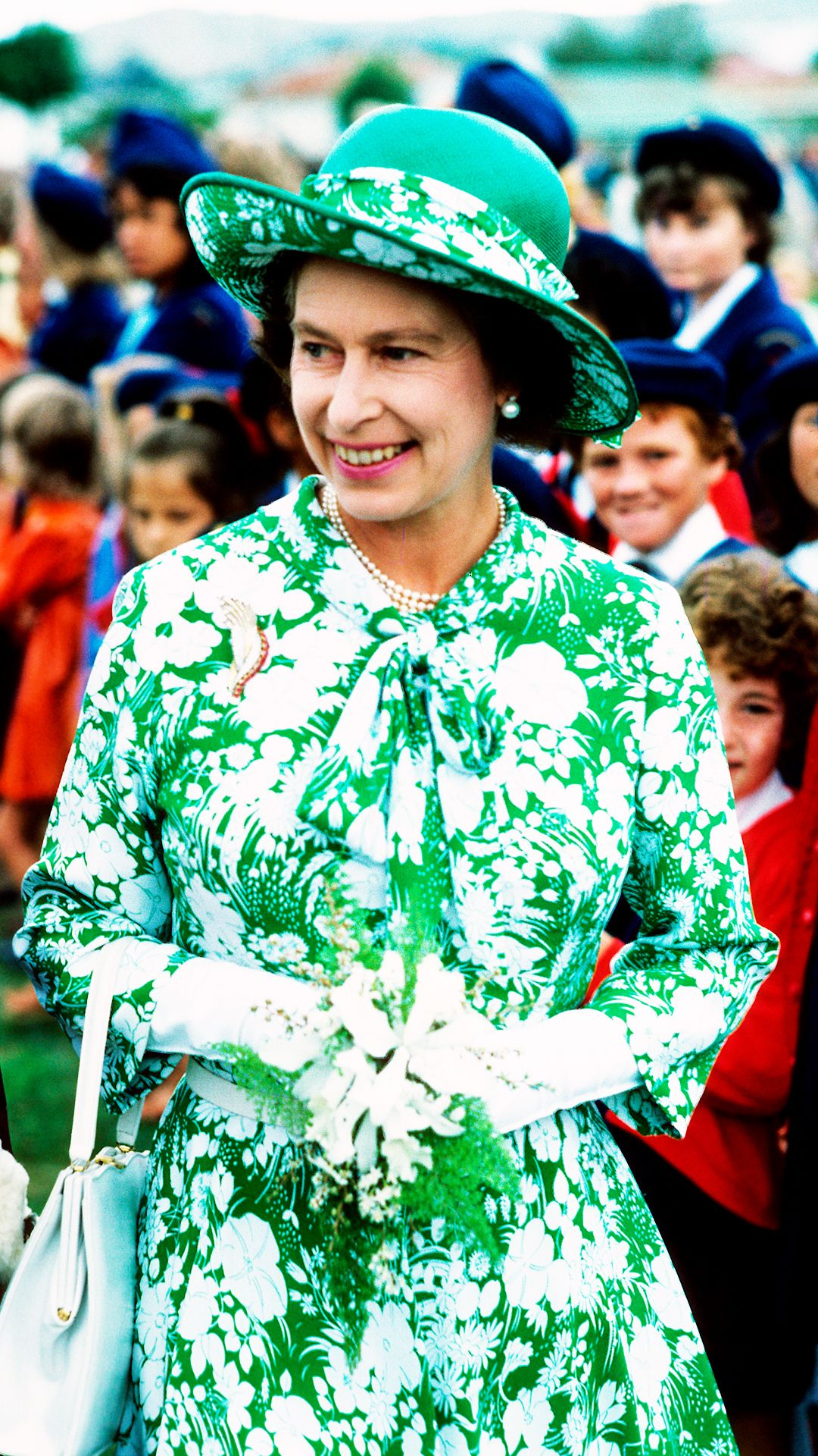 Queen Elizabeth II's Style So Much More Than Matchy