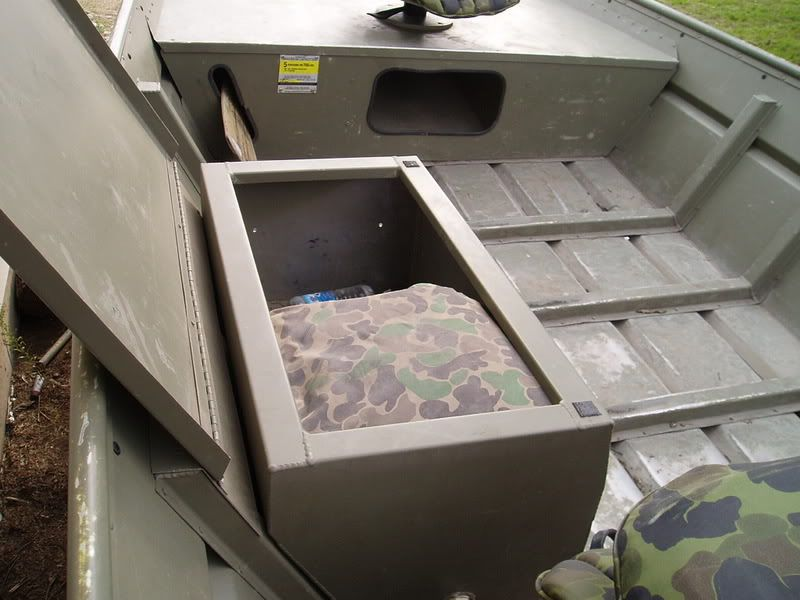 Jon Boat Storage Boxes | ... U2022 View Topic   For Sale: Jon Boat And Carstens  Pintail