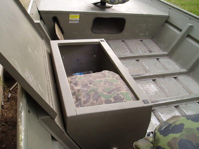 Jon Boat Storage Boxes   ... U2022 View Topic   For Sale: Jon