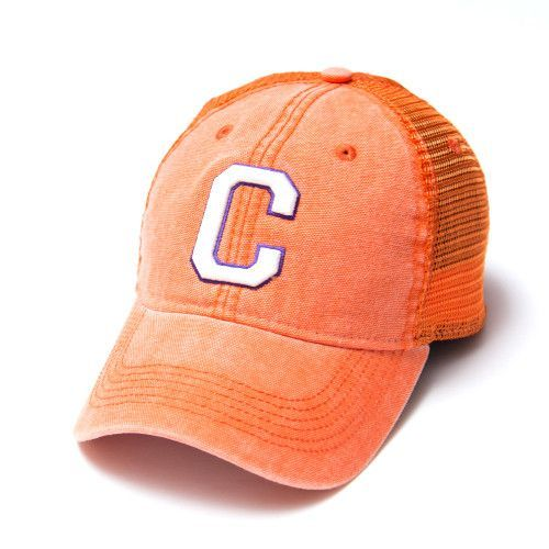 b10d7ddda6d Clemson Tigers Legacy Old Favorite Dashboard Trucker Hat