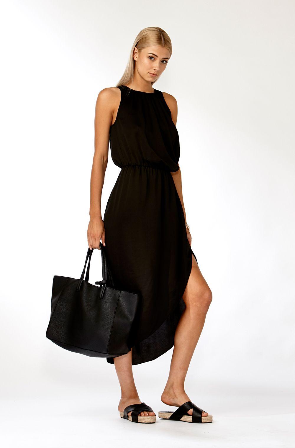 Beth maxi dress pop looks pants