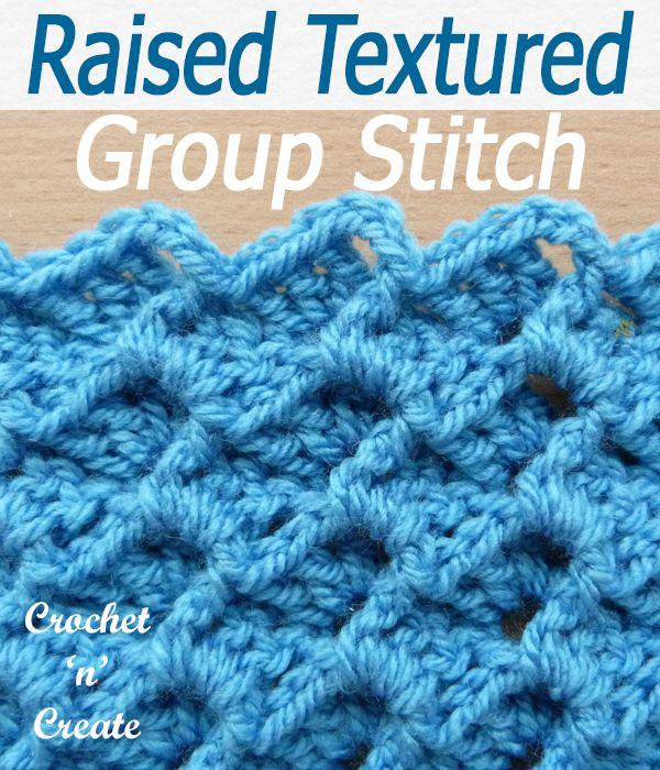 Crochet Stitches Free Crochet Tutorials #crochetstitches