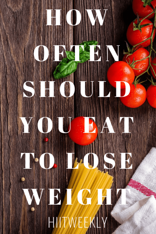 How often you should eat to lose weight