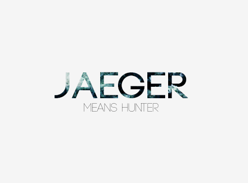 Male name: JAEGER. Meaning: Hunter. Pronunciation: YAY-ger ...