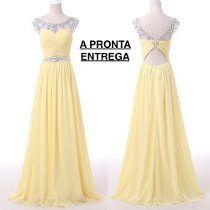 32aebb5bf Vestido Festa/formatura/madrinha A Pronta Entrega | Vestidos de ...