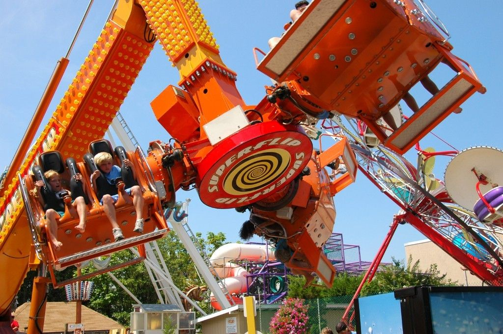 Attractions Rides Rehoboth Beach Roller Coasters Great Places