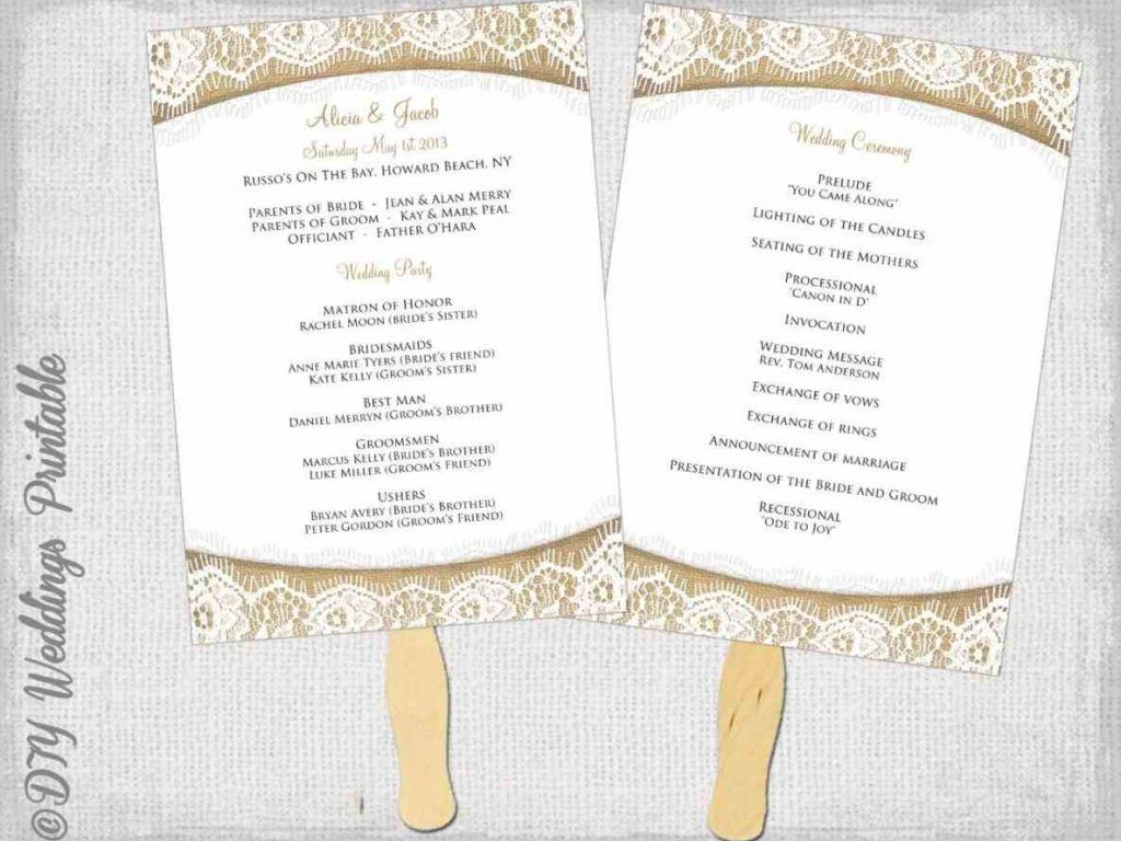 free wedding program template word template pinterest wedding